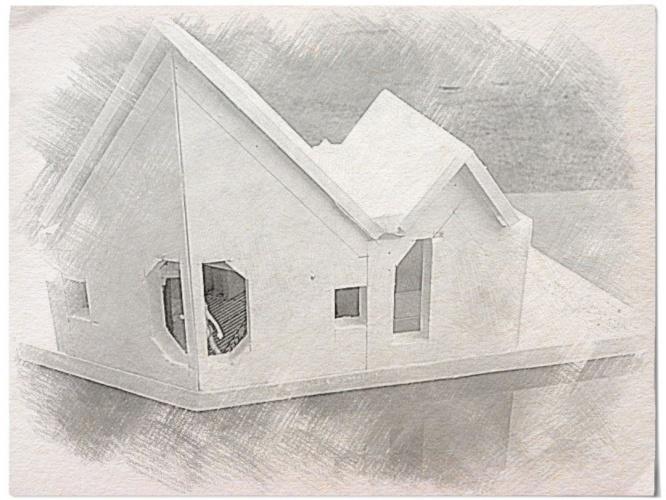 Modernisation d'un duplex urbain : maquette 2