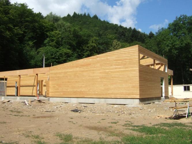 Bâtiment Associatif et Réamménagement d'une Place à STEINBACH (68) : DSCF6265.JPG