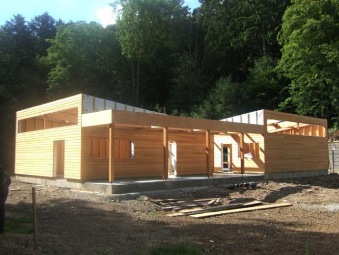 Bâtiment Associatif et Réamménagement d'une Place à STEINBACH (68) : DSCF6435.JPG