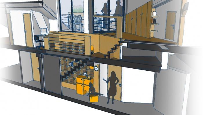 Création terrasse + aménagemant intérieur : 2