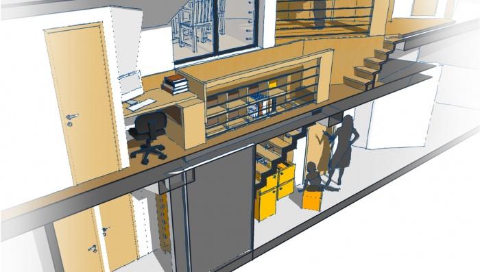 Création terrasse + aménagemant intérieur : 4