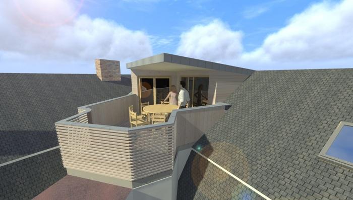 Création terrasse + aménagemant intérieur
