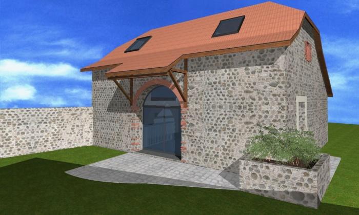 Rehabilitation d'une grange en habitation