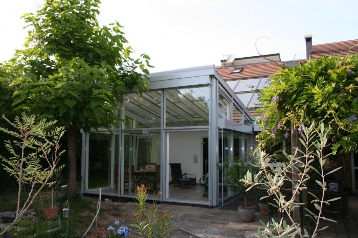 Véranda pour une maison individuelle
