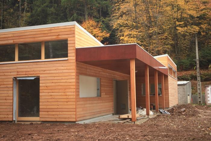 Bâtiment Associatif et Réamménagement d'une Place à STEINBACH (68)