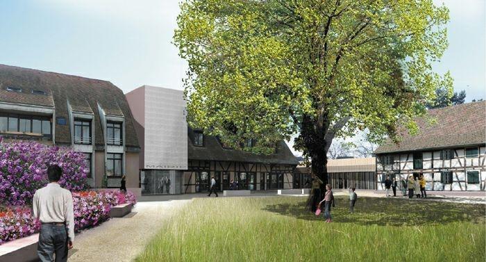 Extension restructuration de la mairie de La Wantzenau (67) - 2010