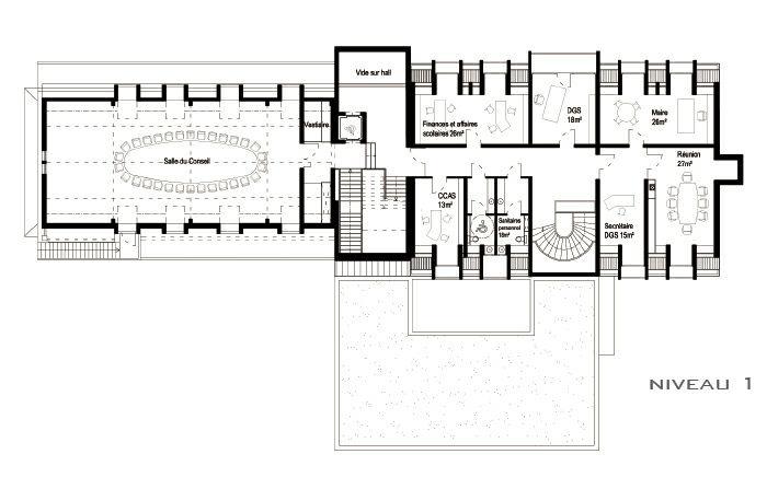 Extension restructuration de la mairie de La Wantzenau (67) - 2010 : LW-04