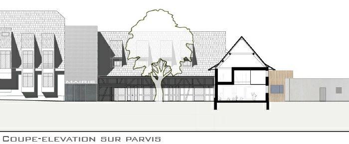 Extension restructuration de la mairie de La Wantzenau (67) - 2010 : LW-06