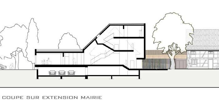 Extension restructuration de la mairie de La Wantzenau (67) - 2010 : LW-08