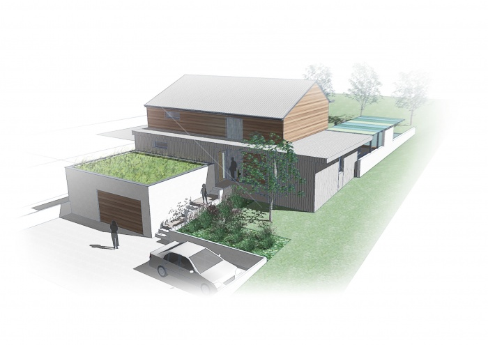 Habitat Individuel / Basse énergie / Ossature bois