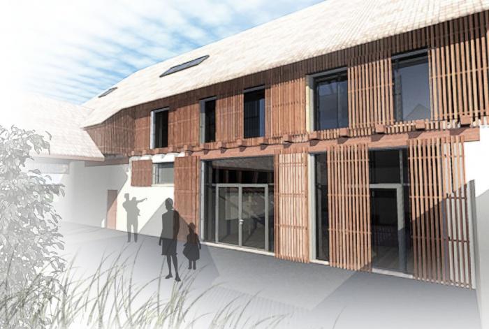 Réhabilitation d'une grange en Habitation individuelle