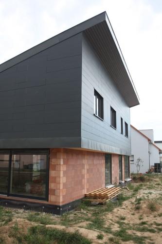 Construction d'une maison individuelle LABEL BBC à WIWERSHEIM (67)