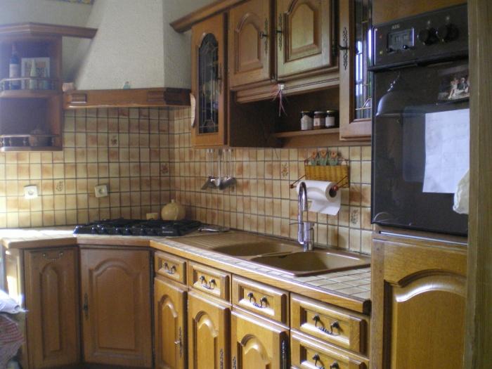 Rénovation intérieure : Cuisine avant l'intervention