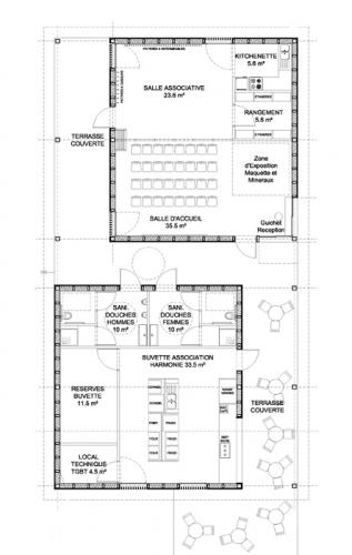 Bâtiment Associatif et Réamménagement d'une Place à STEINBACH (68) : STEIN Plan 1.jpg