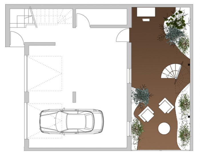 Extension d'une habitat, concours non retenu : RDC.jpg