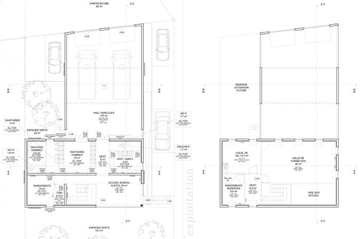 Centre de Secours et d'Incendie de SCHWINDRATZHEIM (67) : SCHWIN Plan 02.jpg
