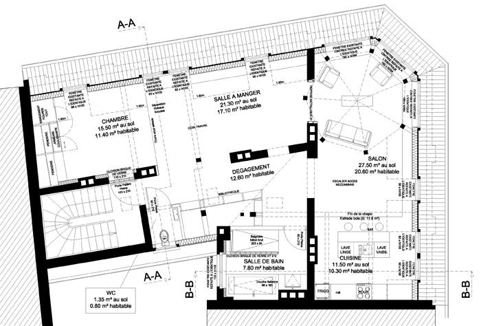 Création d'un loft dans des combles à STRASBOURG (67) : BECEREN PLAN.jpg