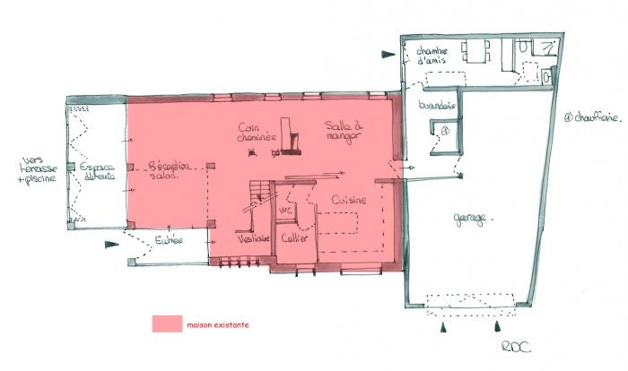 Réhabilitation maison individuelle