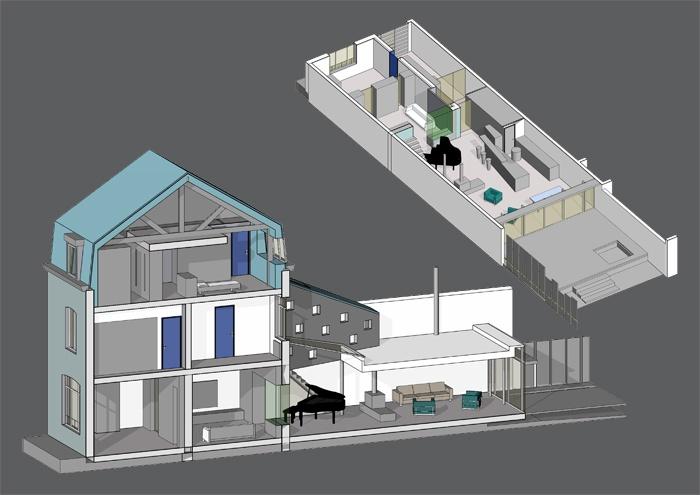 Extension d'une habitation à Bailleul