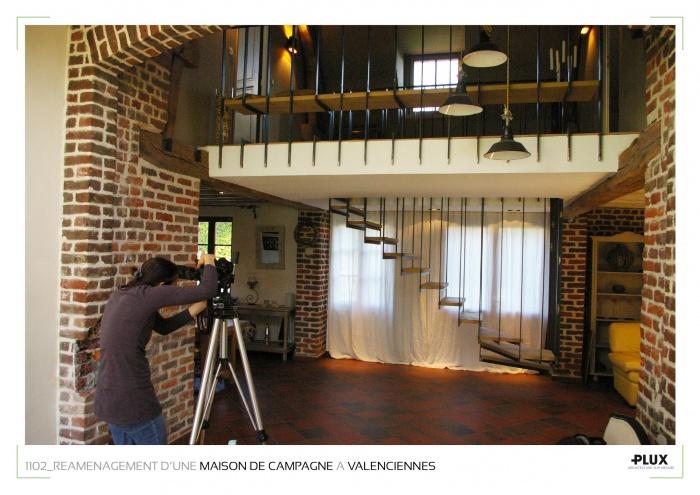 Réaménagement d'une maison de campagne à VALENCIENNES (59300) : architecte lille plux aménagement intérieur loft studio appartement loft maison design décoration