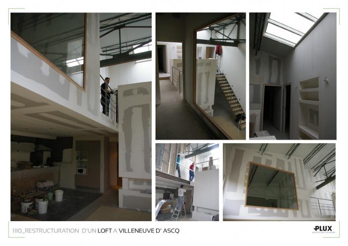 Aménagement d'un loft à LILLE (59000) : planches projets3