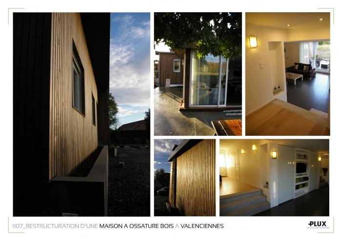 Restructuration d'une maison de campagne à ossature bois à Valenciennes (59300) : architecte lille plux aménagement intérieur loft studio appartement loft maison design décoration20