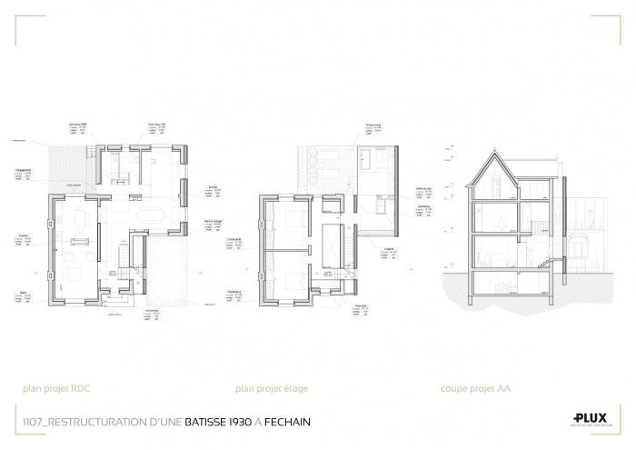 Restructuration et extension d'une maison à DOUAI (59500) : architecte lille plux aménagement intérieur loft studio appartement loft maison design décoration