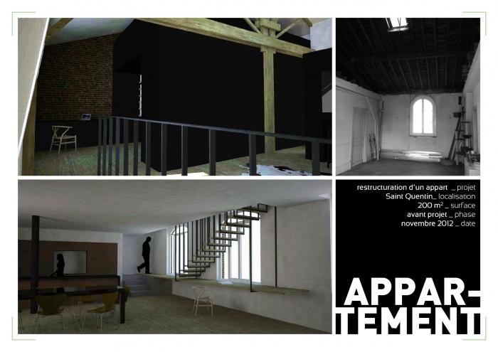 Rénovation et extension d'un grand appartement à SAINT QUENTIN (02100) : image_projet_mini_59429
