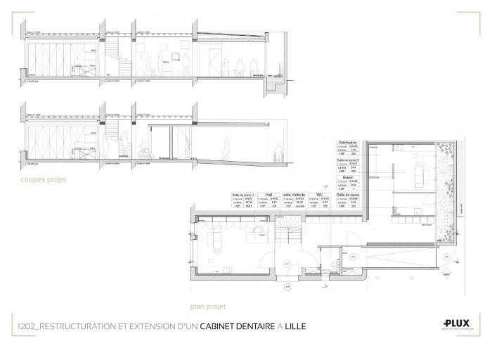 Restructuration et extension d'un cabinet médical à LILLE (59000) : architecte lille plux aménagement intérieur loft studio appartement loft maison design décoration