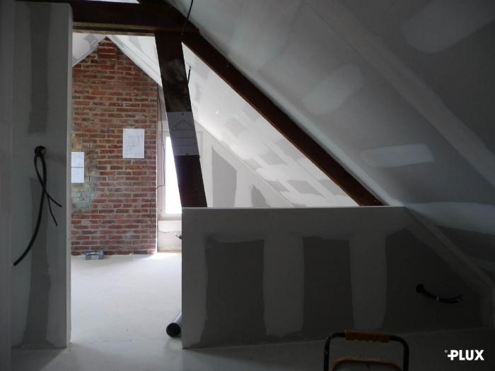 Réhabilitation d'une maison en trois appartements près de VALENCIENNES (59300) : Réhabilitation d'une maison en appartements Valenciennes architecte lille plux3
