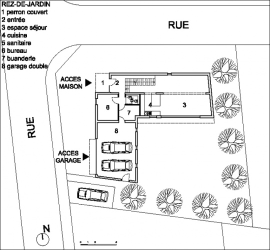 Construction d'une maison individuelle LABEL BBC à HESINGUE (68) : PLANS REVUE CAMUS 01