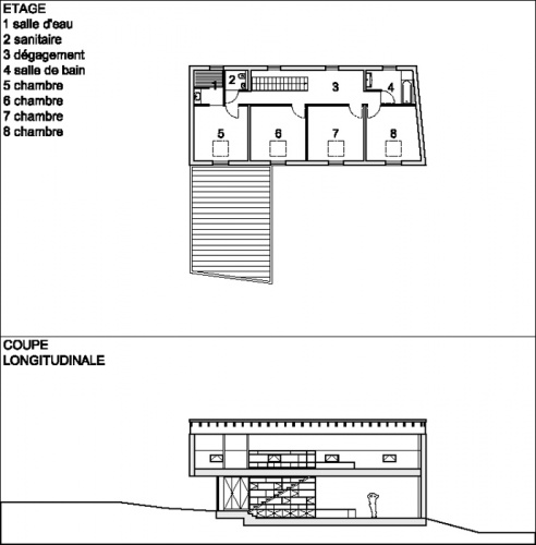 Construction d'une maison individuelle LABEL BBC à HESINGUE (68) : PLANS REVUE CAMUS 02