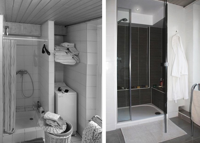 Salle de bains : HAE_avant-apres_douche