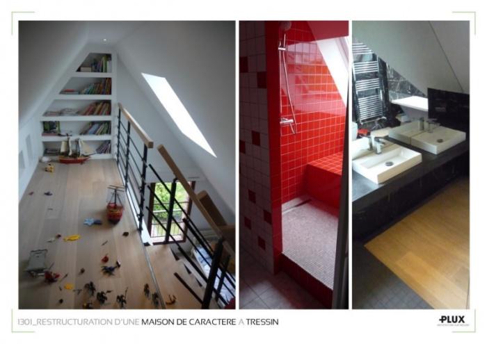 Restructuration d'une maison familiale à TRESSIN_Architecte Lille PLUX