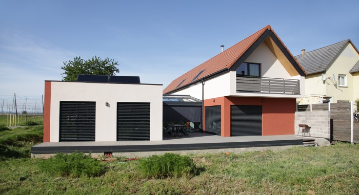 Construction d'une maison contemporaine à BILWISHEIM (67)