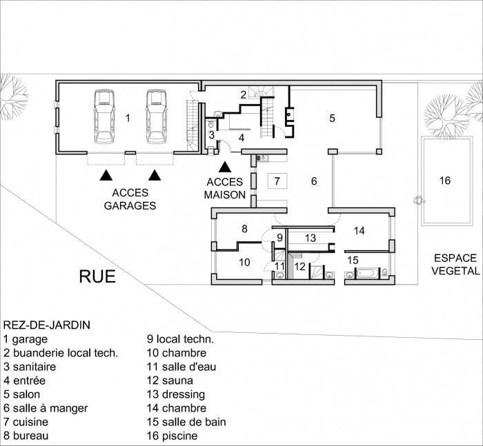 Construction d'une maison contemporaine à BILWISHEIM (67) : PLAN RDC.jpg