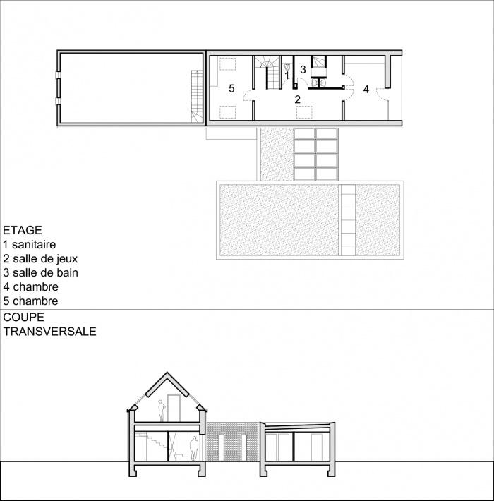 Construction d'une maison contemporaine à BILWISHEIM (67) : PLAN ETAGE.jpg