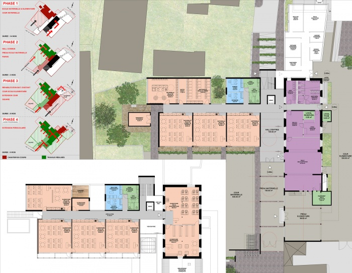 Extension et restructuration d'un groupe scolaire à ARTZENHEIM (68) : PLANS.jpg