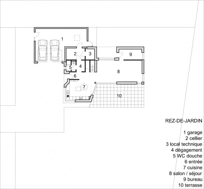 Construction d'une maison contemporaine à Sélestat (67) : PLAN RDC.jpg